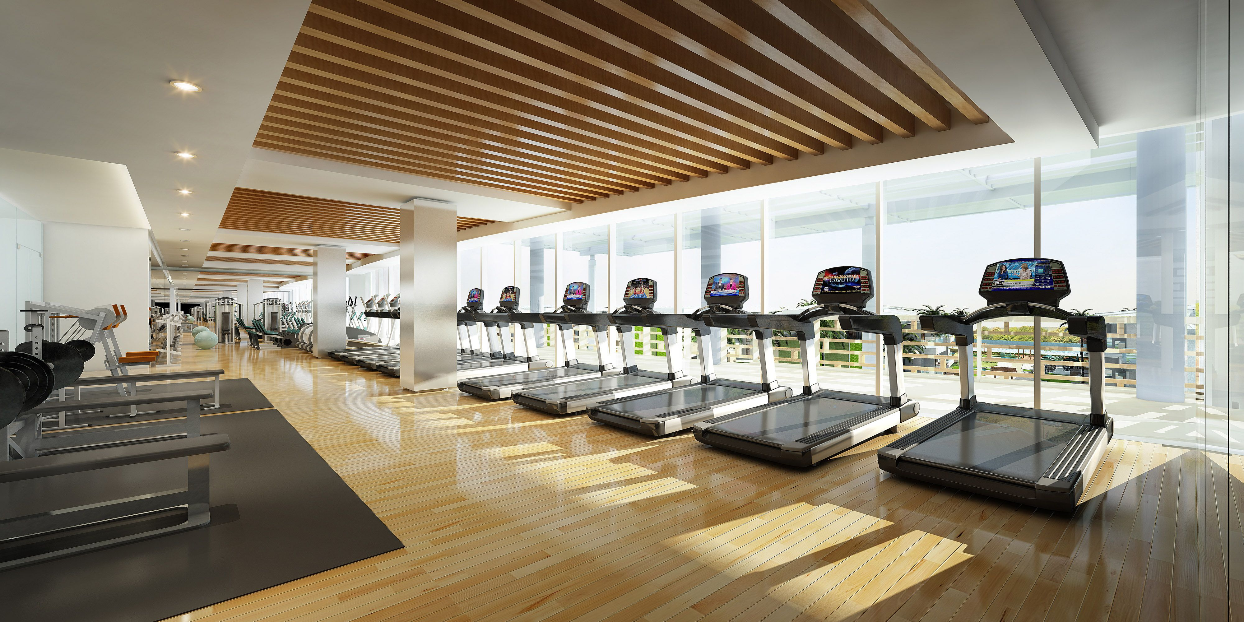 gym rendering google search gym pinterest salle salle de sport et sport. Black Bedroom Furniture Sets. Home Design Ideas