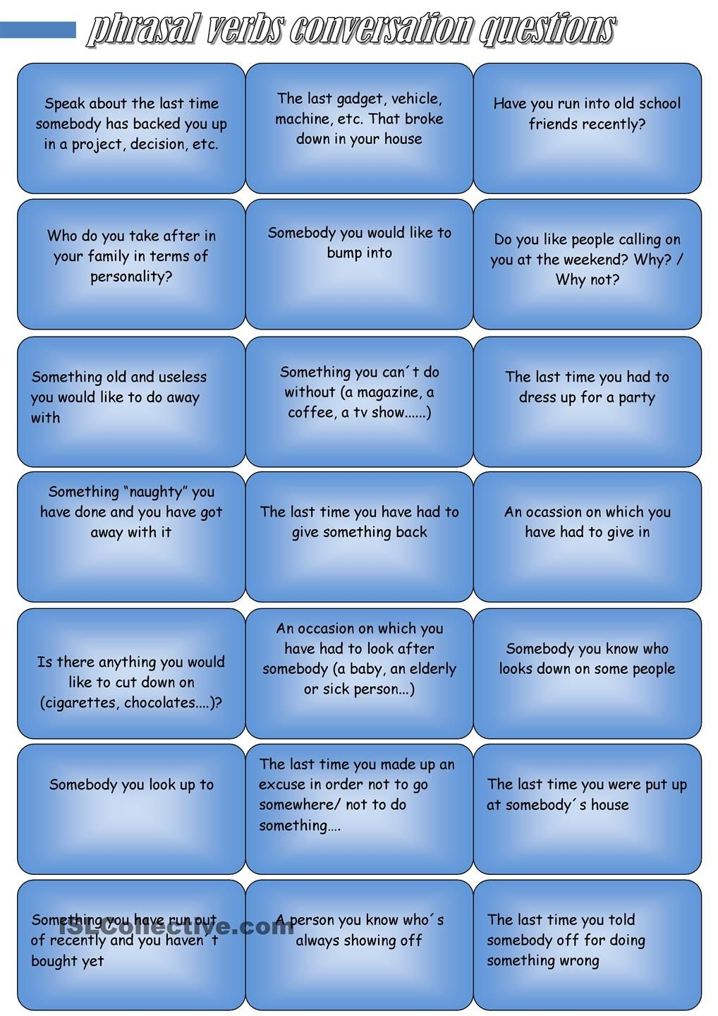 Phrasal Verbs Conversation Questions Conversation Questions Advanced Vocabulary This Or That Questions [ 1440 x 1018 Pixel ]