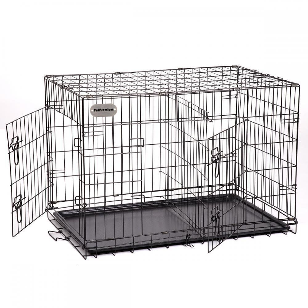 Petpremium Extra Large Dog Crate Xxl Pet Carrier Travel Cage Indoor Outdoor Outside Collapsible Portabl With Images Large Dog Crate Extra Large Dog Crate Xxxl Dog Crate