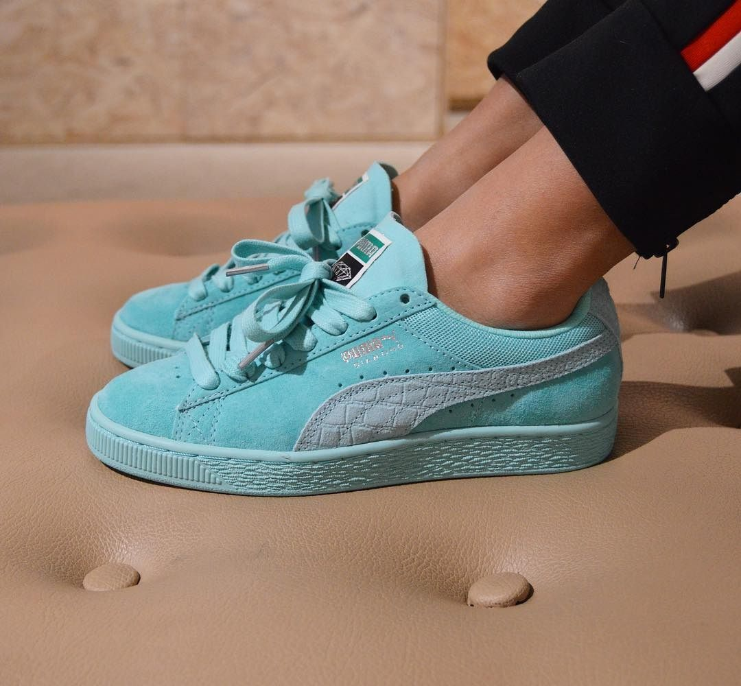 Diamond Supply Co. x PUMA Suede