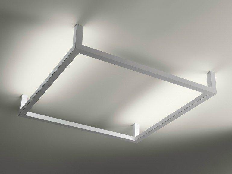 Plafoniere Per Scale : Plafoniera a luce indiretta design framework linea lightecture by