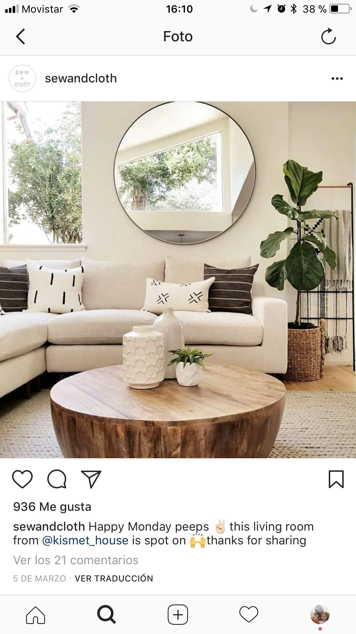 Pin by Carmen Bosque on Living  Living room decor modern, Living