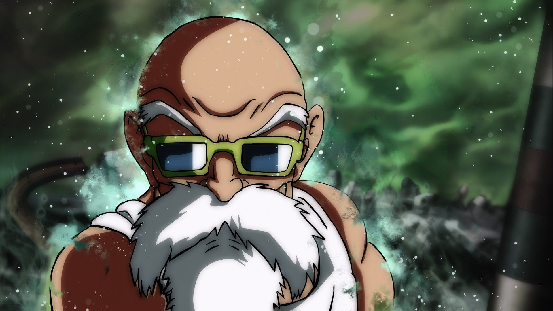 Dragon Ball Super Master Roshi Ultra Instinct Anime Dragon Ball Dragon Ball Super Dragon Ball