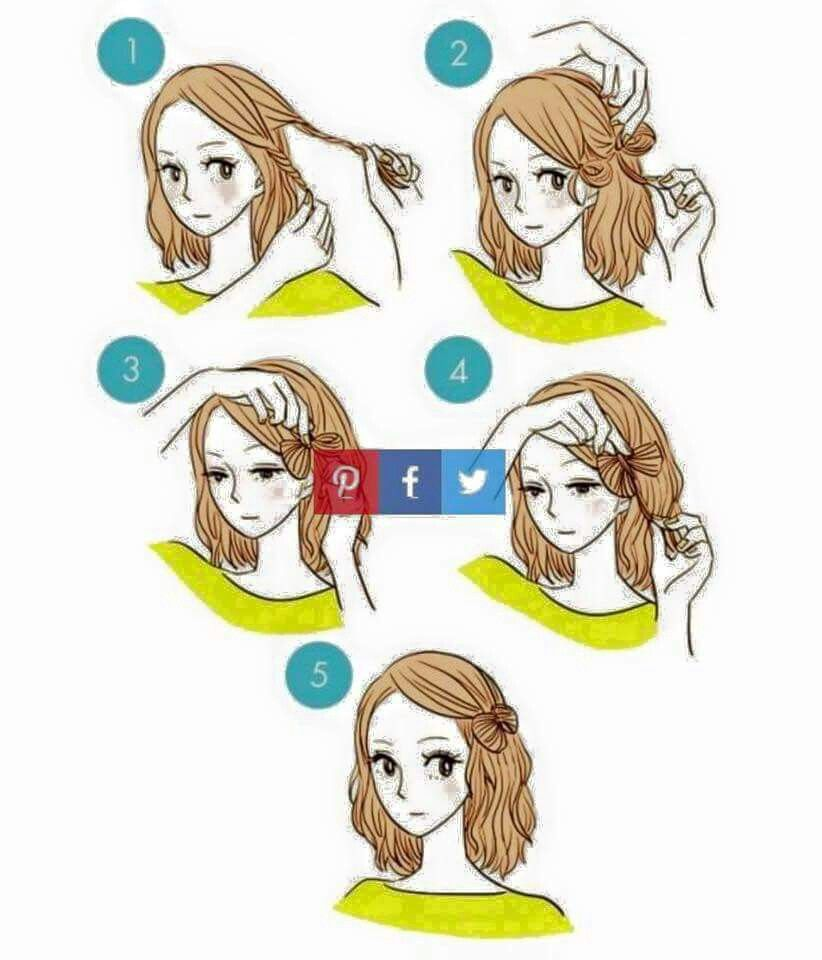 Simple Diy Hairstyles Everyday: Pin By Jessica Threlfall On Hair Styles