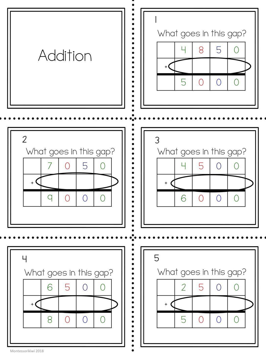 Four Digit Gateway To Algebra Questions