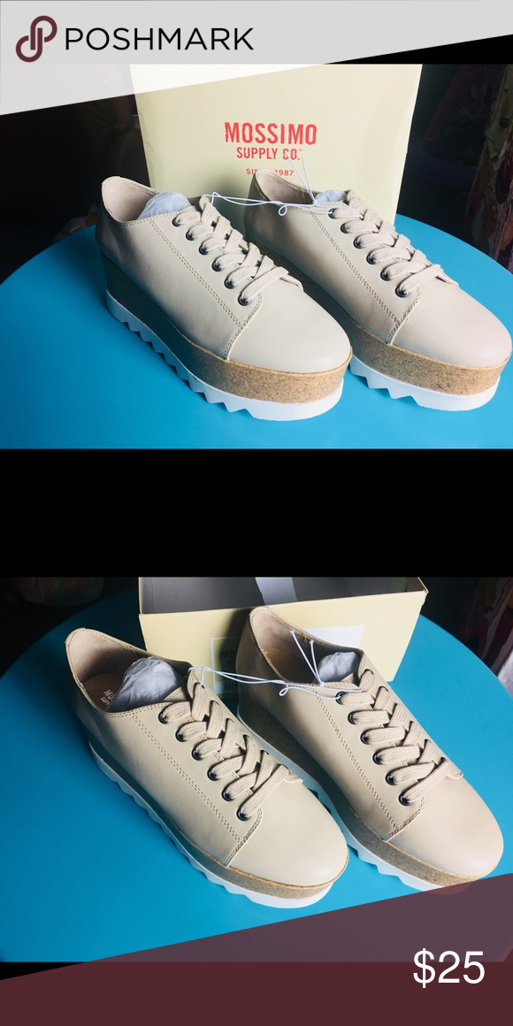 e0b17ac2e59 Mossimo Juniper Shoes Tan Size 10 New never worn Mossimo Juniper Mossimo  Supply Co. Shoes