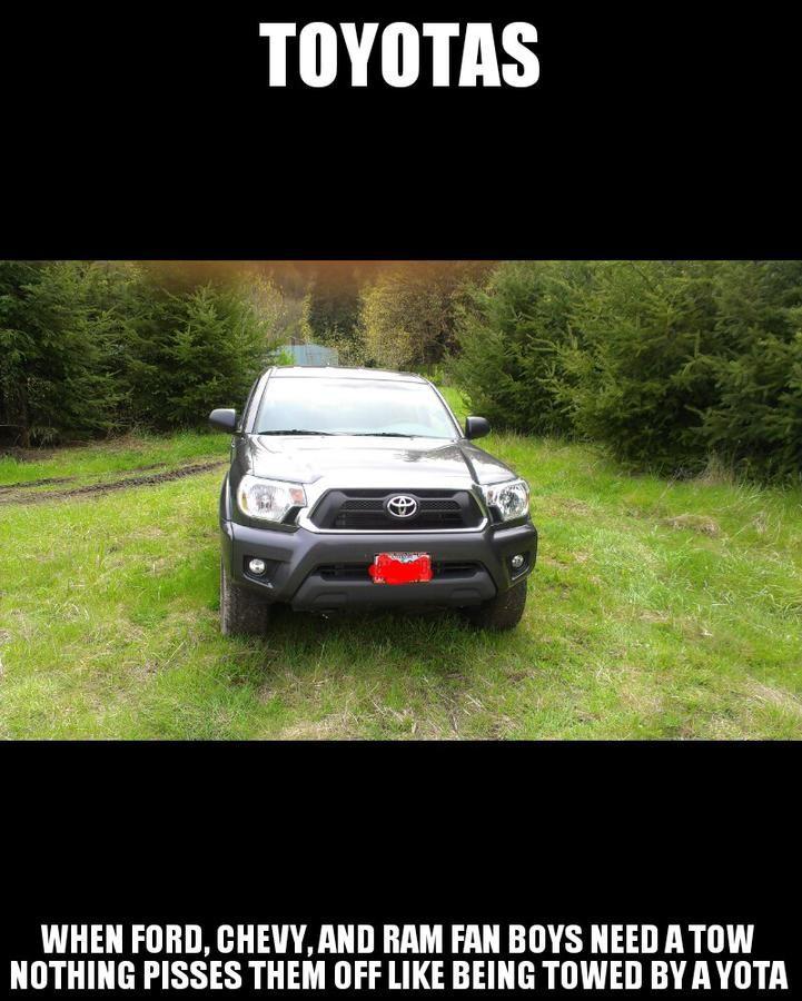 Toyota Toyota Truck Memes Toyota Tacoma