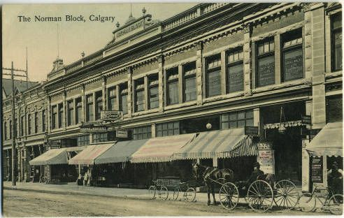 "How's the Norman Block (now burned to the ground) related to one of Calgary's early characters? Click through to read the story of the ""Little Giant"" Tommy Burns."