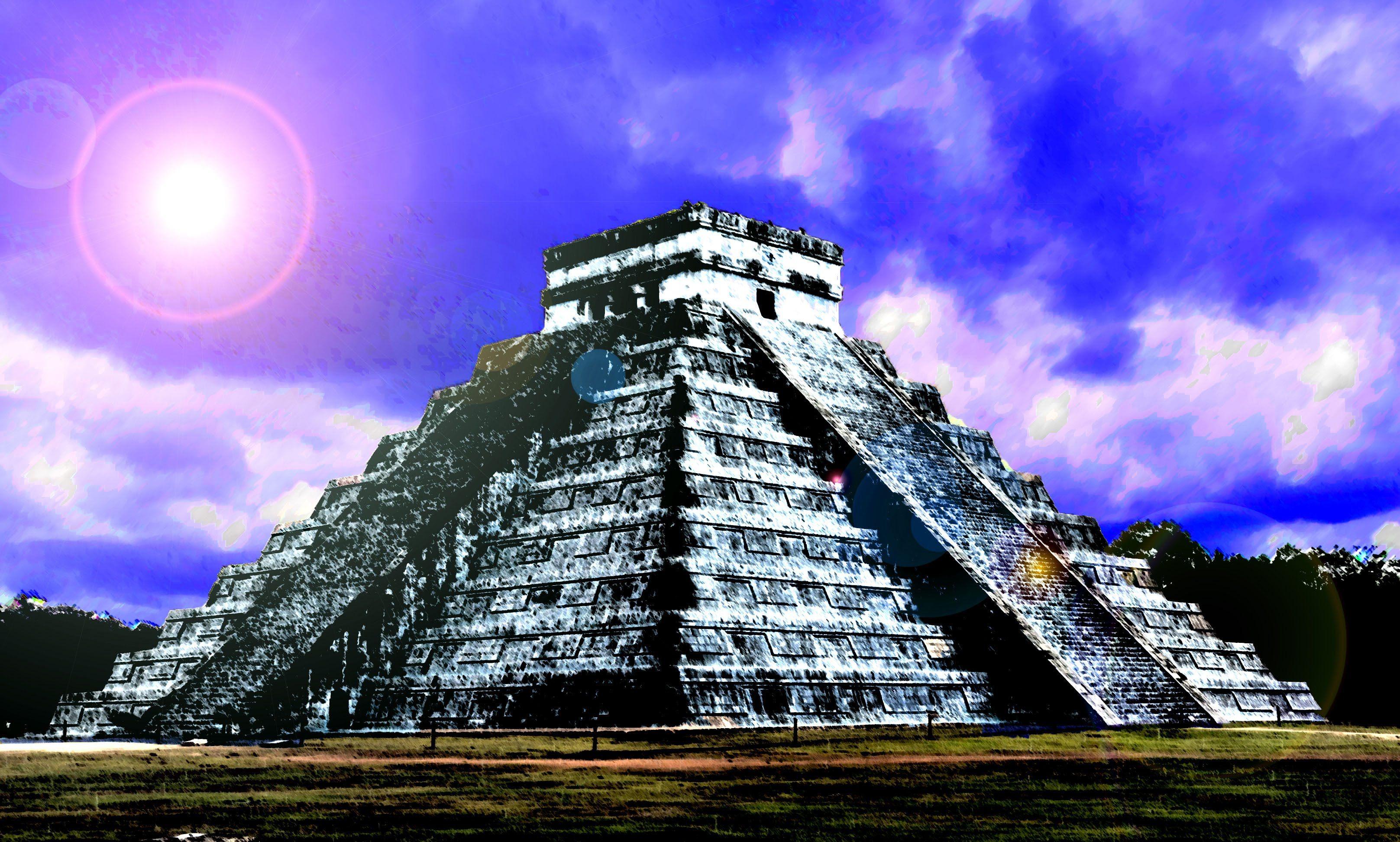 10 Tormentosas Predicciones Mayas Para El 2017 Tormenta Espectral Azul Tormenta Lunares Azules Uñas Azules