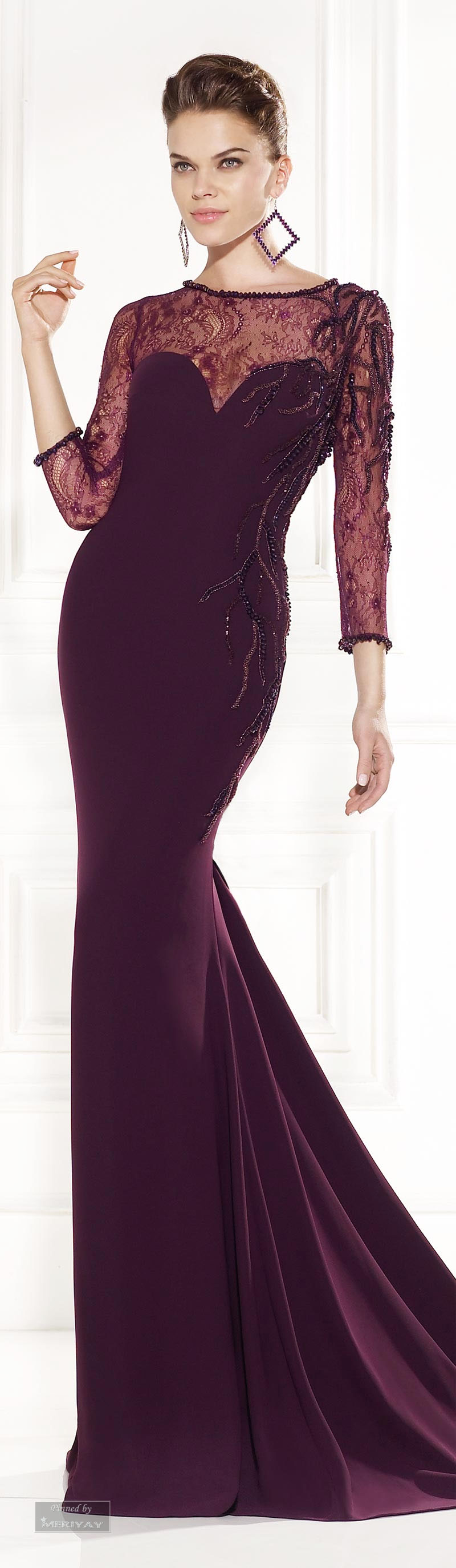 Tarik Ediz Evening Dress 2015 ● ♔LadyLuxury♔