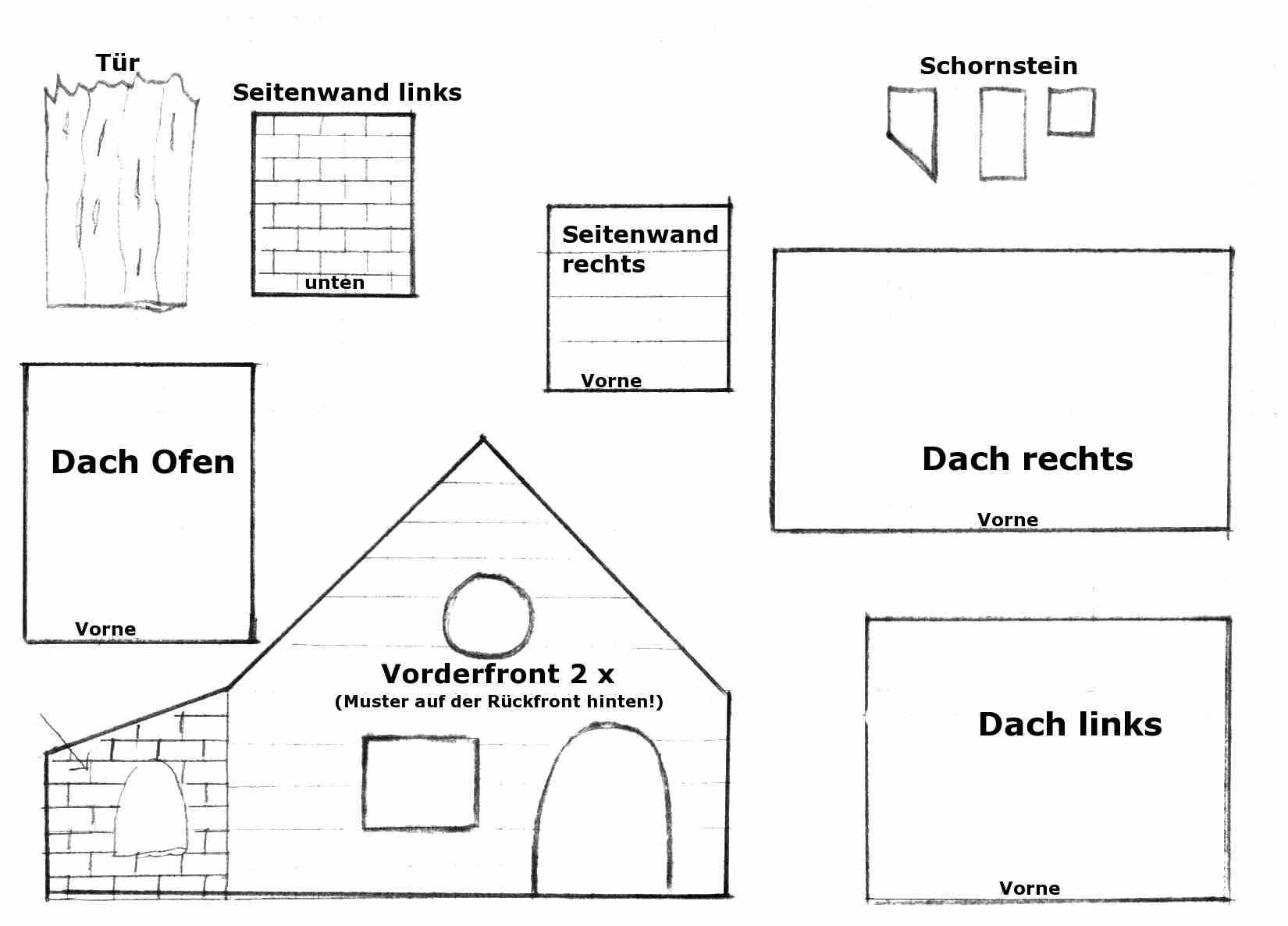 gingerbread house template hexenhausgrundriss lebkuchenh user gingerbread hexenh uschen. Black Bedroom Furniture Sets. Home Design Ideas