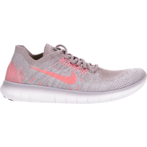 Nike Women's Free RN Flyknit 2017 Running Shoes (Taupe Grey