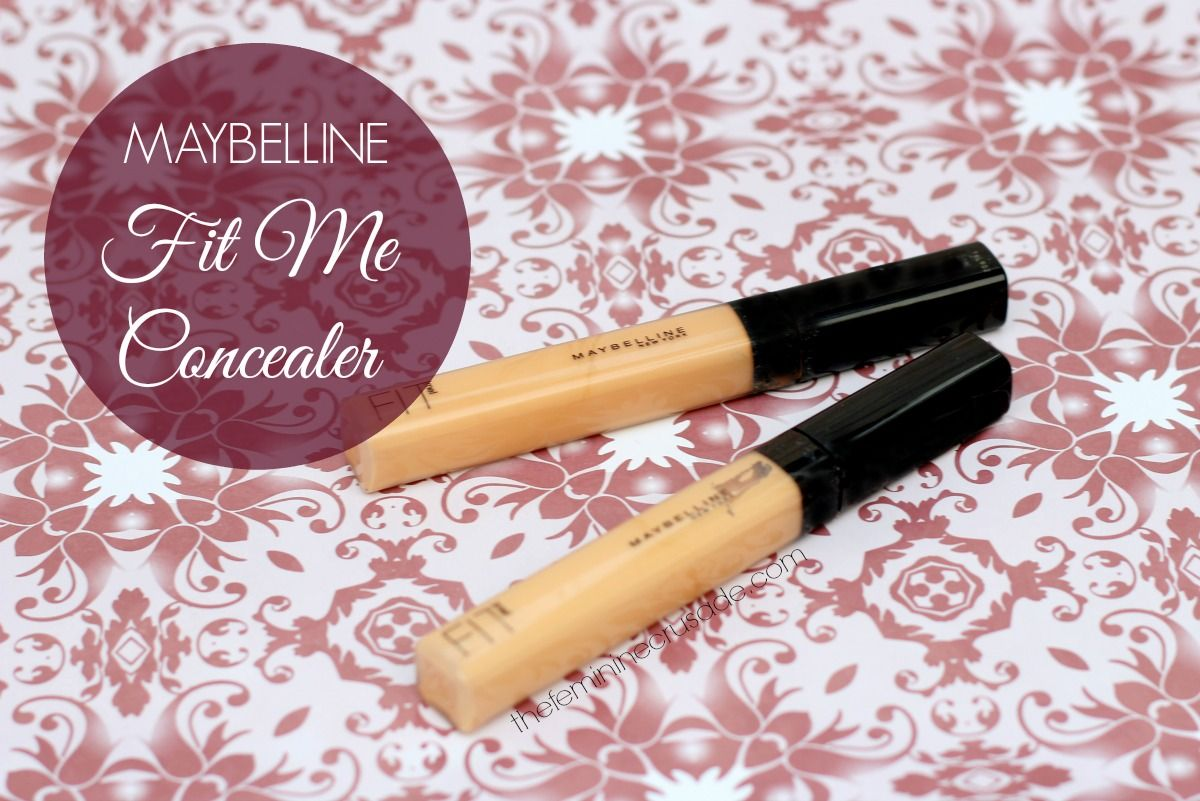 Maybelline fit me concealer review swatches