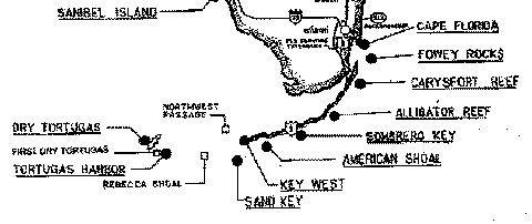 Florida Lighthouses Map.Florida Keys Lighthouse Map Vacation Maybe Pinterest