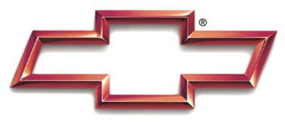 Red Outline Chevrolet Motorsports Bowtie Logo As Seen During 2000