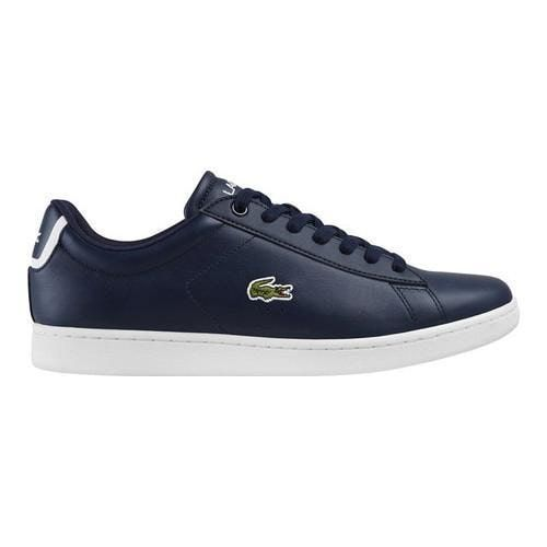 9d33da7cb2 Men's Lacoste Carnaby EVO BL 1 Sneaker Navy (Blue) Leather/Synthetic ...