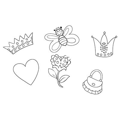 Window Color Marabu Malvorlagen Kronen Herz Tasche Blume Schmetterling Malvorlagen Vorlagen Schmetterling