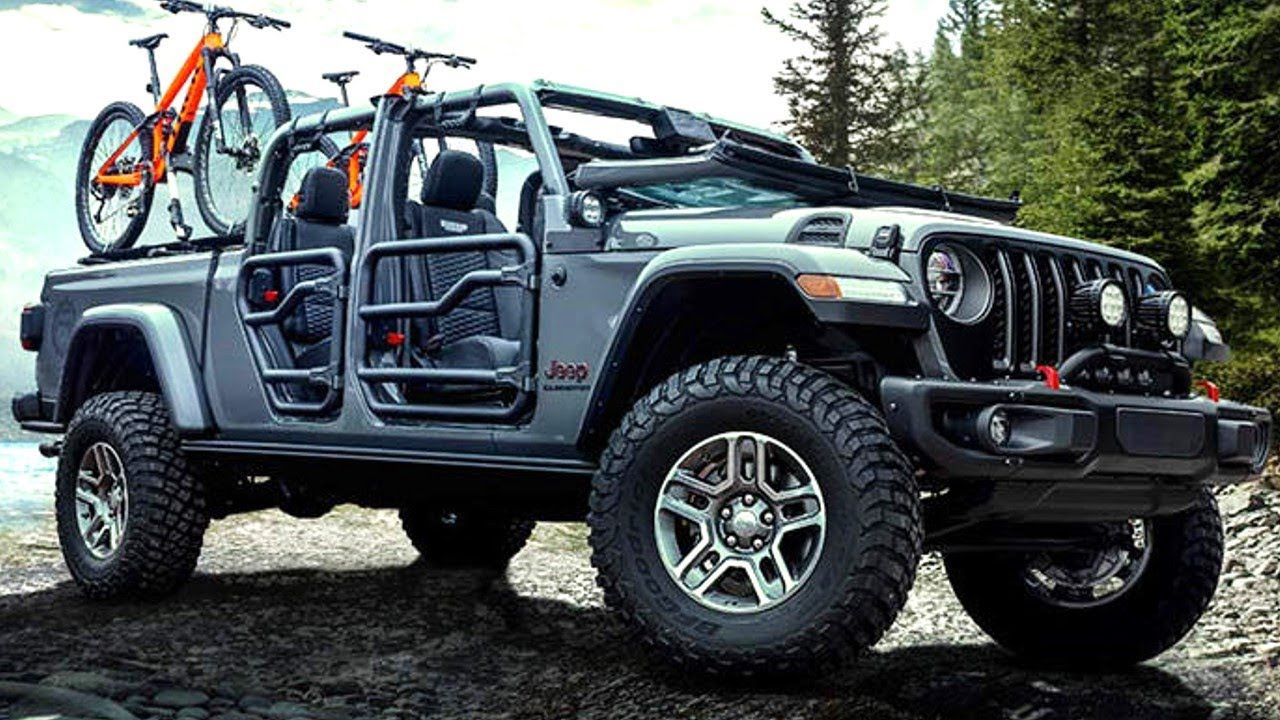 2020 Jeep Gladiator Modified by MOPAR gladiator jeep