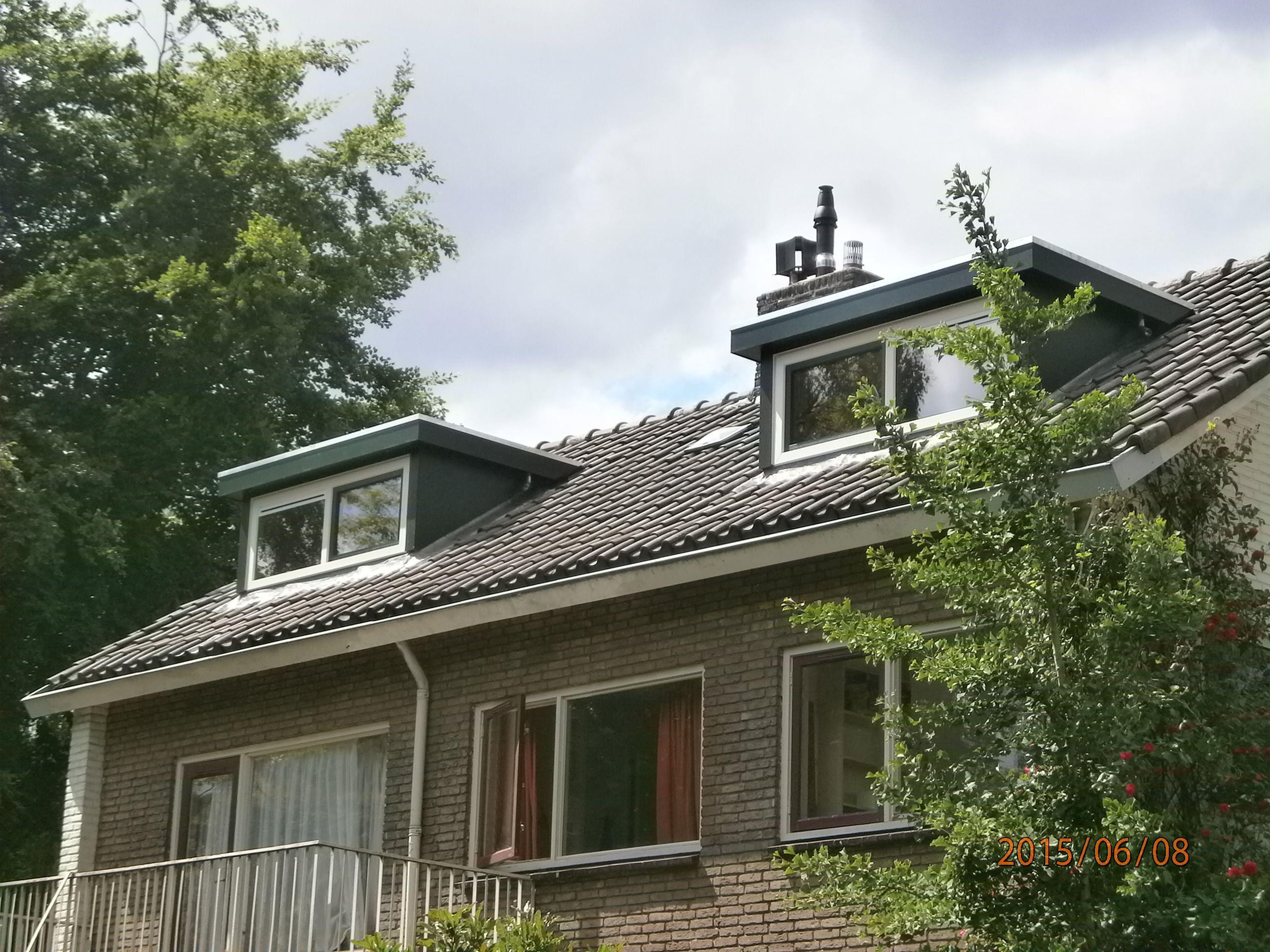 twee prachtige dakkapellen gemonteerd www.bogers.nl