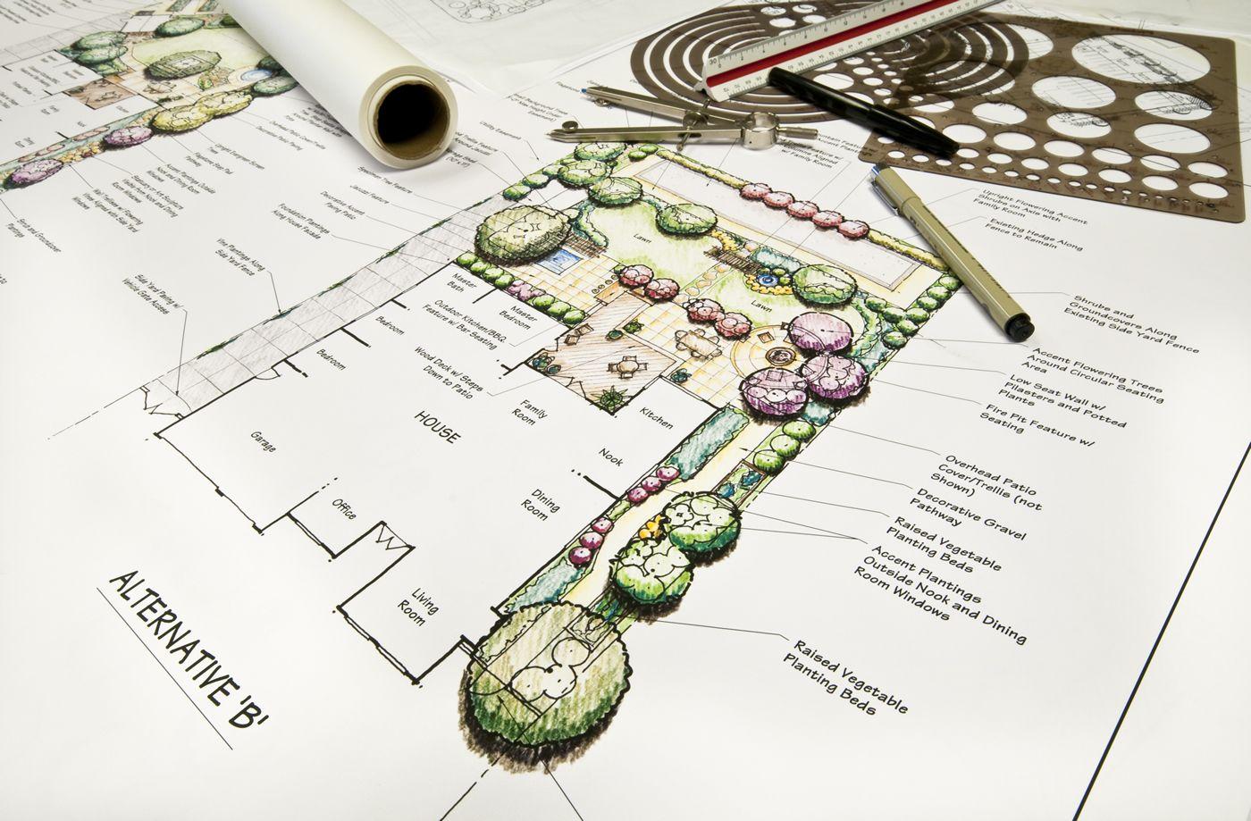 Image result for commercial landscaping design ideas
