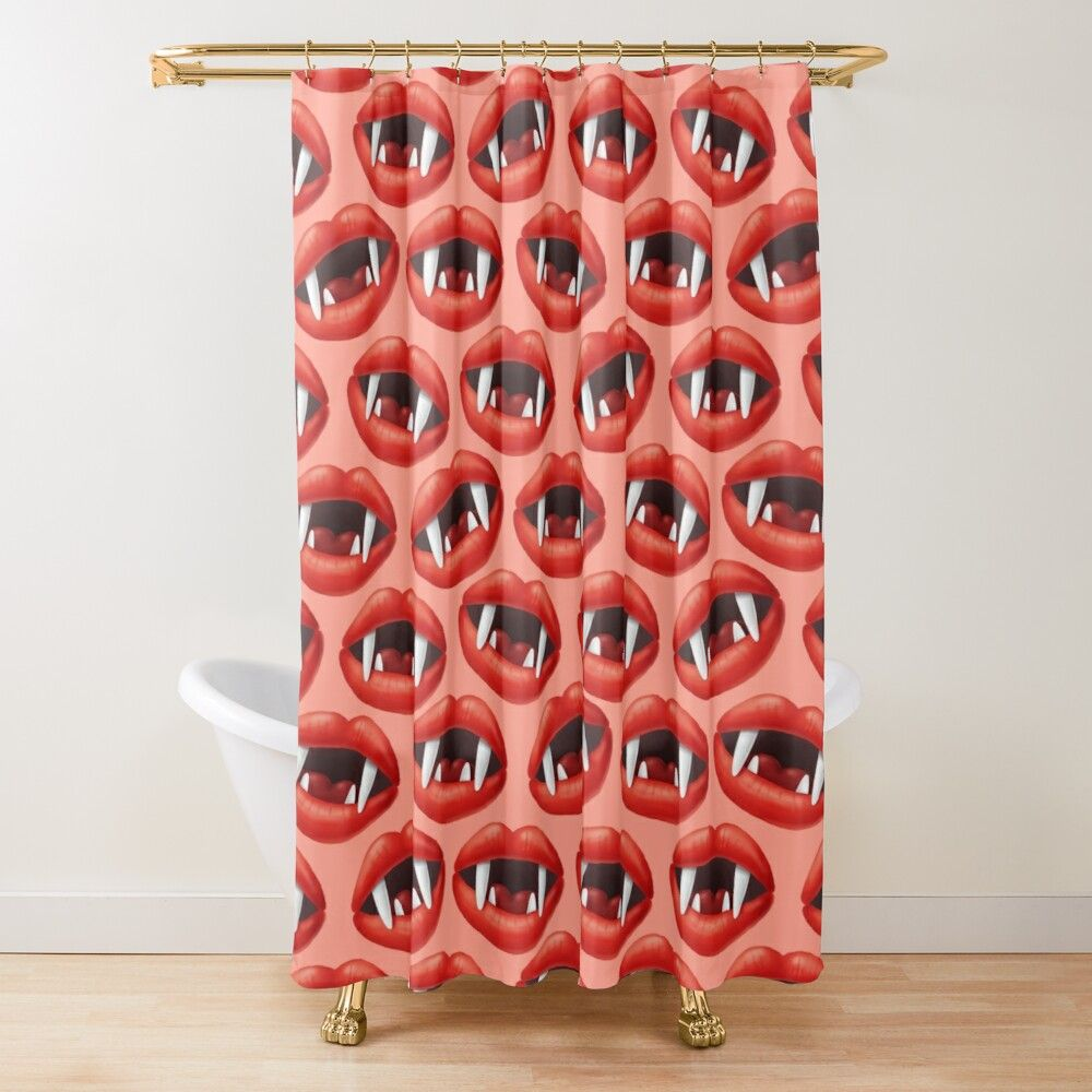 Pin On Redbubble Shower Curtains