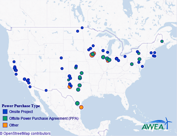 Cost Of US Wind Energy Drops By  In  YearsMap  Http