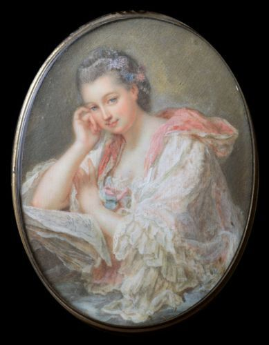 French-School-Portrait-of-a-Young-Lady-1840-60-miniature
