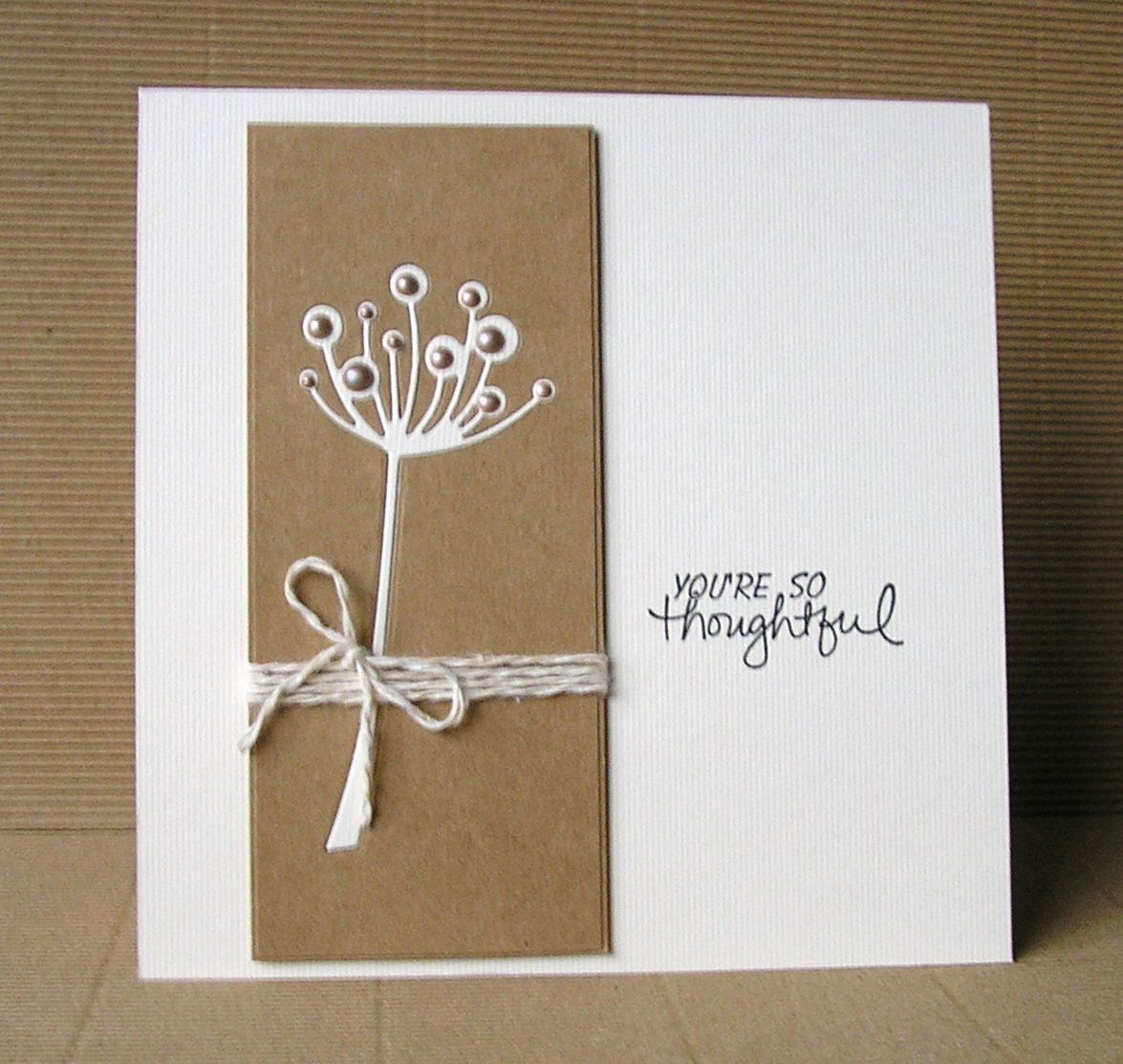 Cards From Lynne S Loft Happy Birthday Less Is More Memory Box