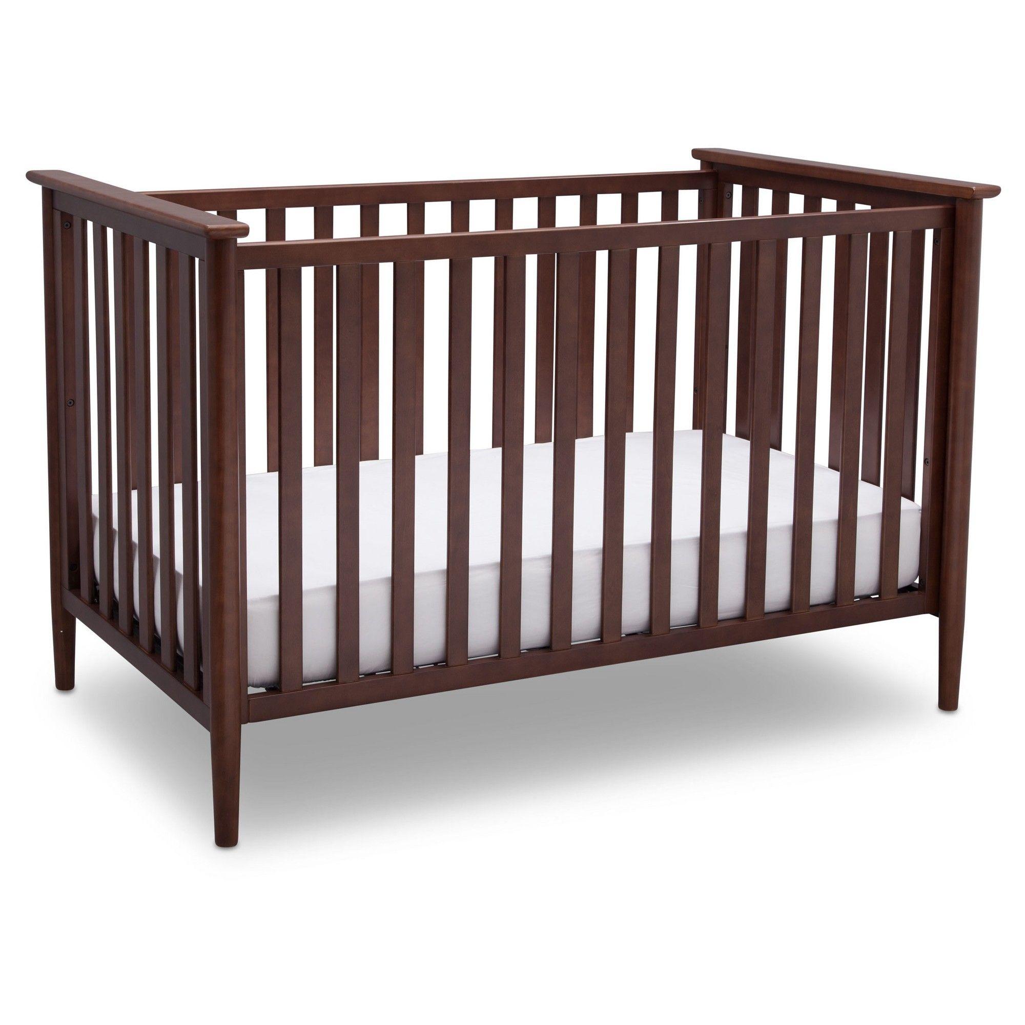 Delta Children Greyson 3-in-1 Convertible Crib - Walnut (Brown)