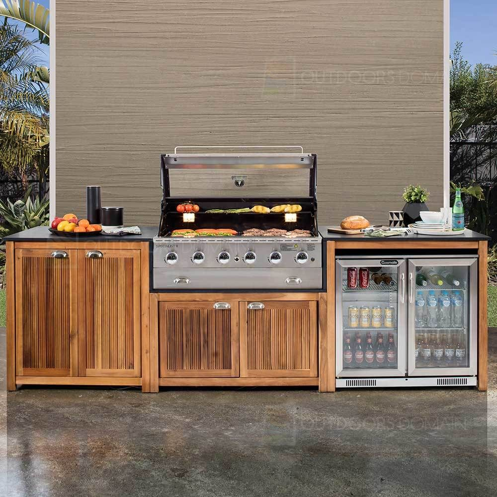 Image 1 With Images Outdoor Bbq Kitchen Small Outdoor Kitchens Diy Outdoor Kitchen