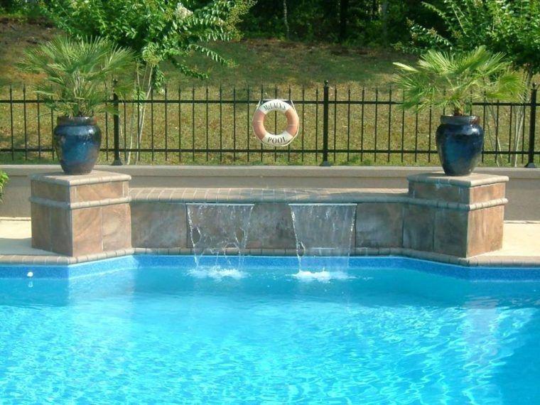 Image Result For Diy Pool Waterfall Swimming Pool