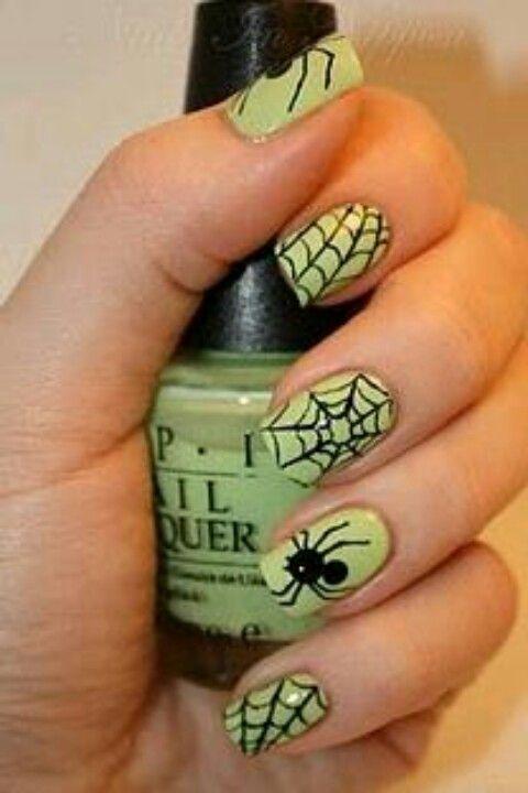 Mas arañas | Nail art | Pinterest | Araña y Halloween