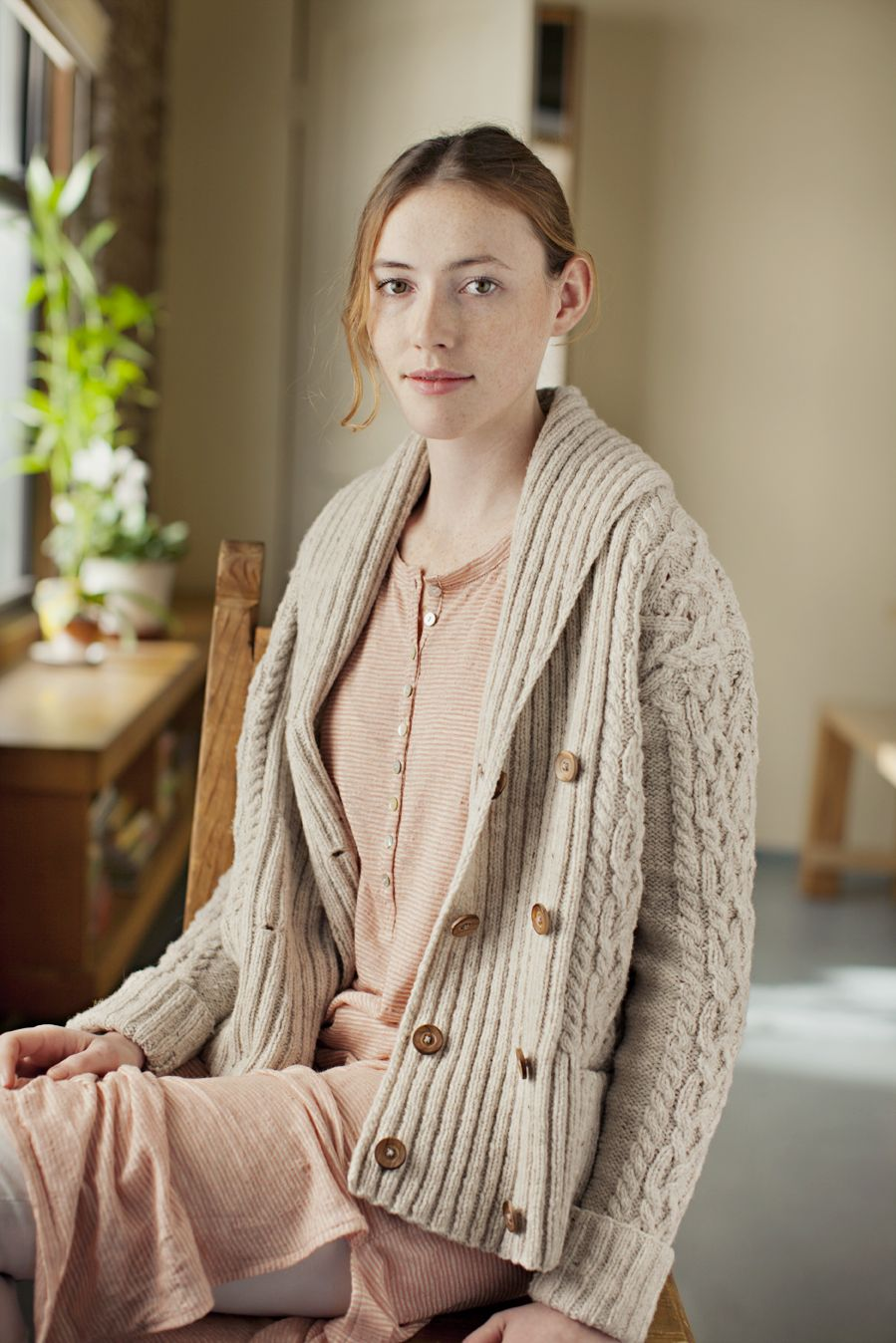 Exeter cabled cardigan wshawl collar by michele wang brooklyn exeter cabled cardigan wshawl collar by michele wang brooklyn tweed knitting pattern 650 bankloansurffo Choice Image