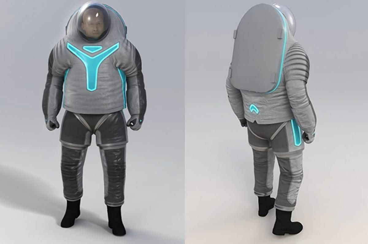 NASA's new actual space suits
