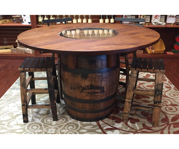 I Really Like This Jack Daniels Whiskey Barrel Table. I Need To Find One. |  Obsessions | Pinterest | Jack Daniels Whiskey Barrel, Whiskey Barrel Table  And ...