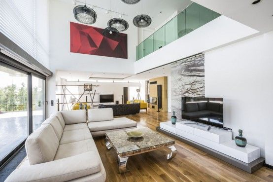 Cool Modern Turkish City Home Design With Glass Walls  Cool - modern turkis