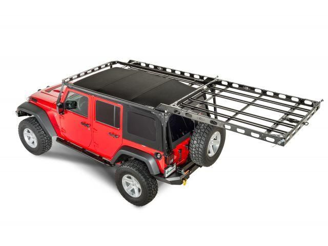 The Lod Easy Access Roof Rack Is A Patent Pending System Which Allows The User To Easily Unlatch And Slide The Roof Rack Jeep Wrangler Unlimited Roof Rack Jeep