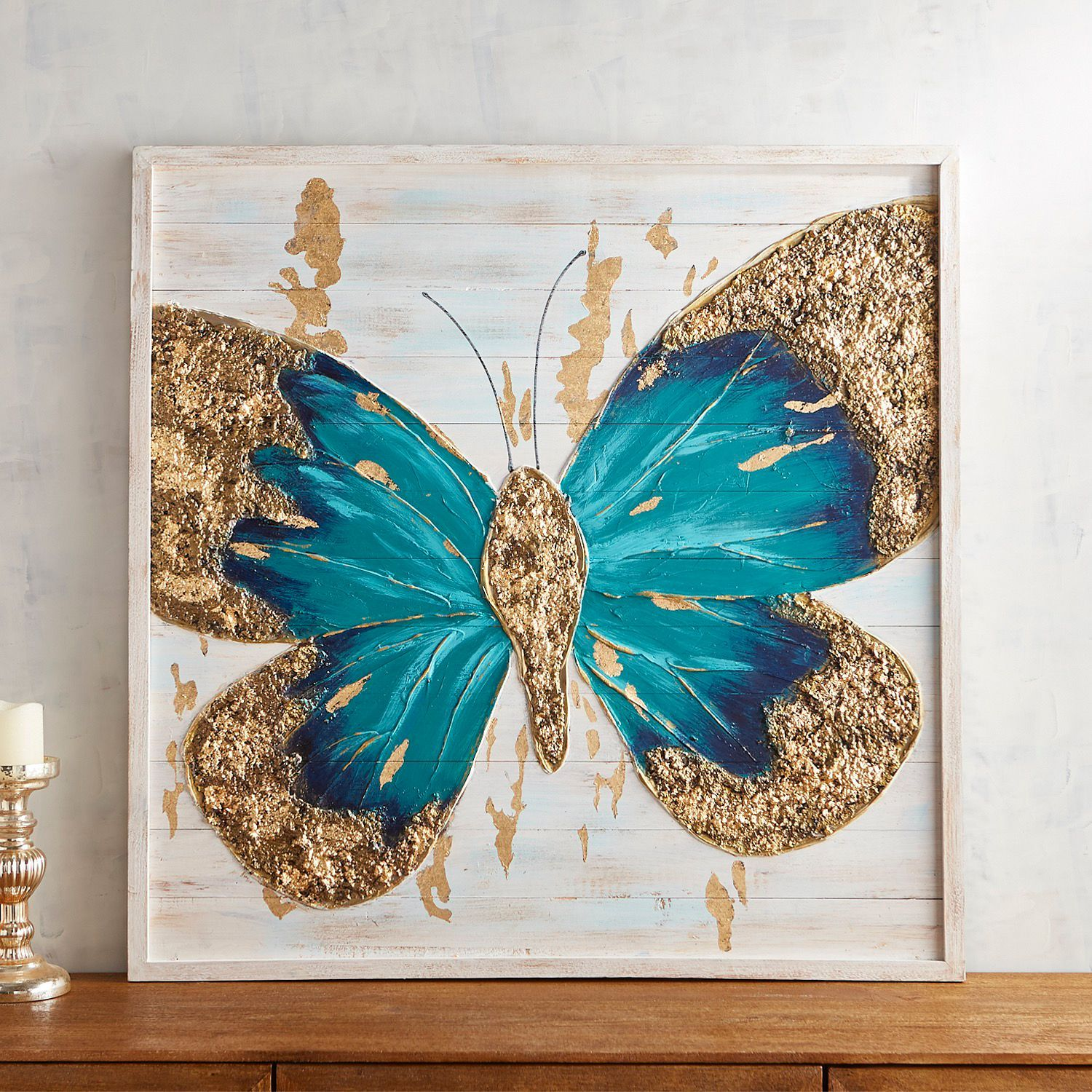 Planked Butterfly Wall Decor Butterfly Art Painting Butterfly Wall Art Butterfly Painting