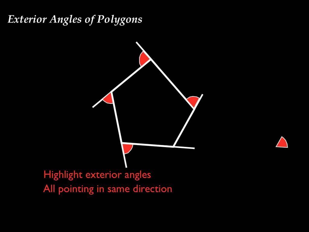 Exterior Angle Of Polygon