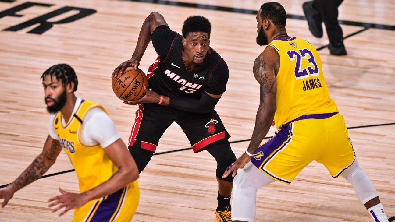 Lowe On Heat Lakers The Five Big Numbers To Watch In Game 5 In 2020 Kelly Olynyk Nba Finals First Coach