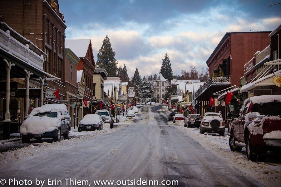 Winter In Nevada City Nevada City Nevada Grass Valley California