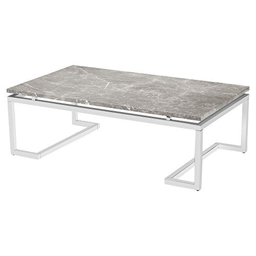 Iliana Regency Silver Grey Marble Coffee Table Read More Reviews Of The Product By Visiting The Link O Marble Cocktail Table Coffee Table Marble Coffee Table