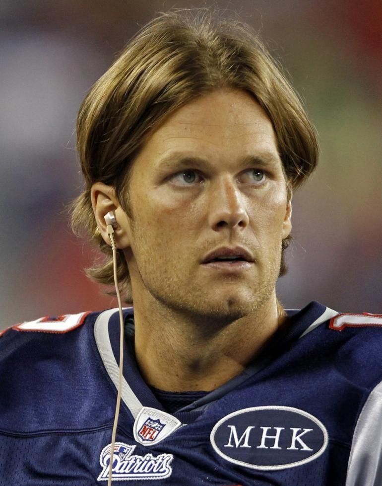 Tom Brady Long Hair | Tom Brady Debuts New Haircut ...