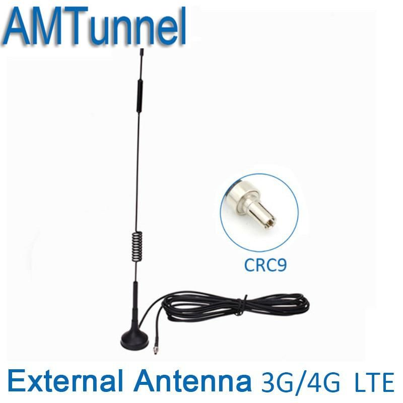 CRC9 antenna 3G 4G LTE antenna Mimo CRC9 connector 12dBi
