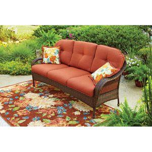 Better Homes And Gardens Azalea Ridge Outdoor Sofa Seats 3 Walmart Com Outdoor Sofa Better Homes And Gardens Patio Furniture
