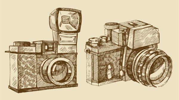 Camera Vintage Vector Free : Free vector vintage camera [graphics] pinterest vintage