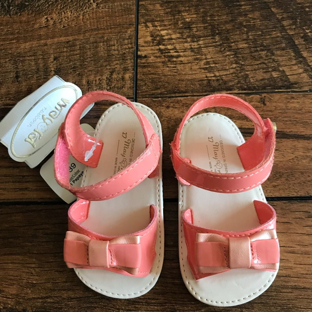 Brand New Mayoral Baby Girl Sandals