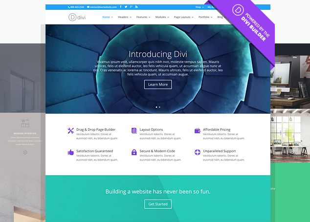 Build a website of your dreams with the WordPress Divi Theme - http ...