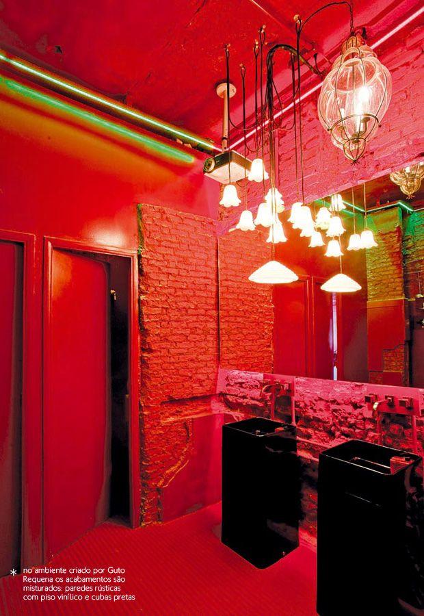 Merveilleux All Red Bathroom #decor #colors #bathroom