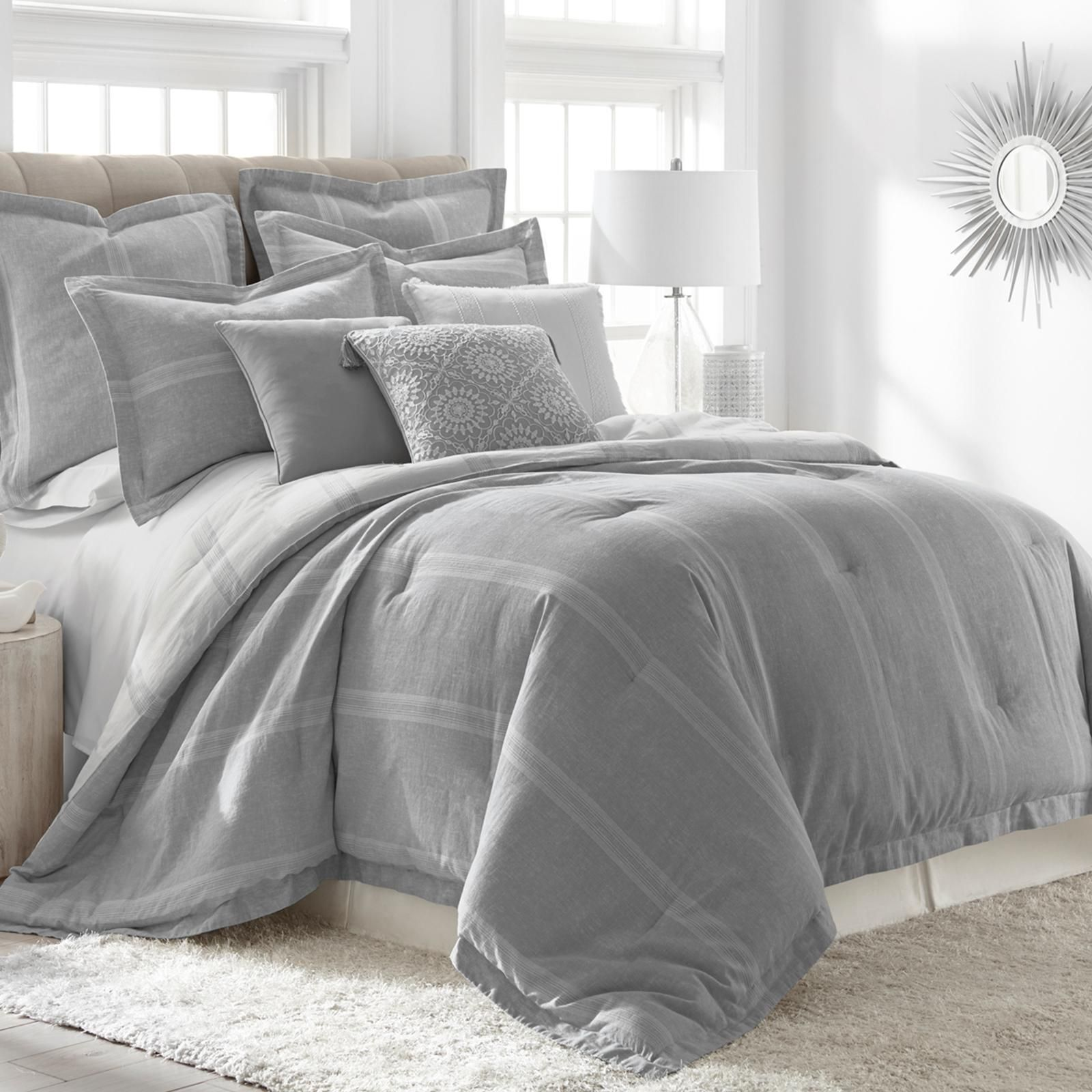 Give your bedroom a fresh look with the Levtex Home Linen